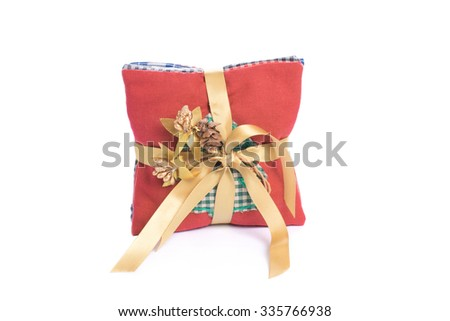 Sachet bags christmas decorations