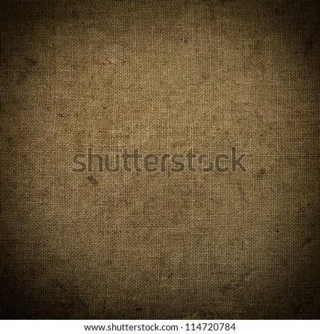 Sackcloth - stock photo