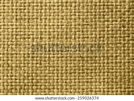 Sackcloth closeup as natural canvas or background. - stock photo