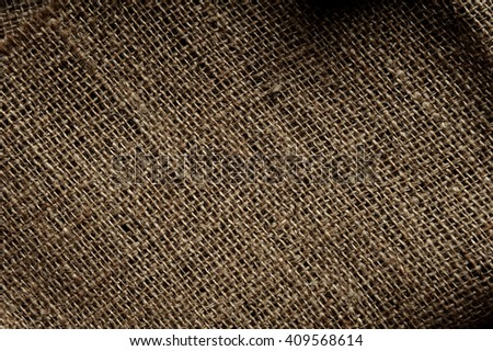 Sackcloth texture background. Natural sackcloth, Texture Pattern Closeup, textured for background.