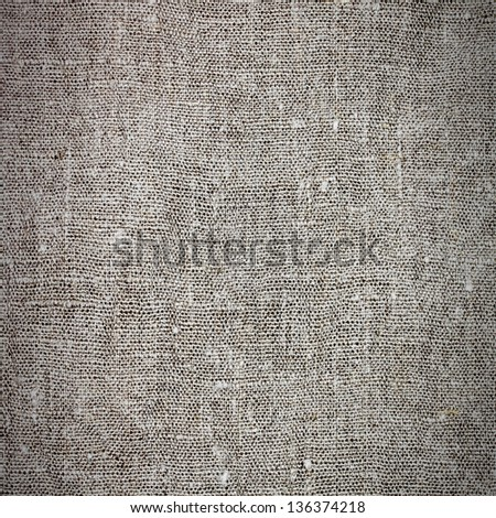 Sacking material background - stock photo