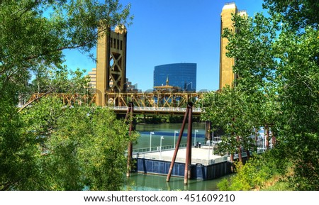 Sacramento Walks, California shots, USA - stock photo