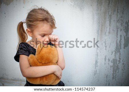 Little Girl Crying Stock Images Royalty Free Images