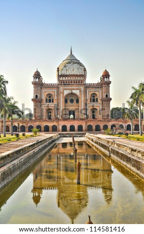 Safdarjung's Tomb-1, New Delhi, India
