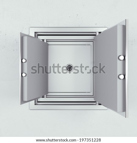 safe in another one - stock photo