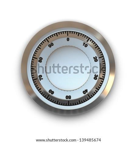 safe lock  - stock photo