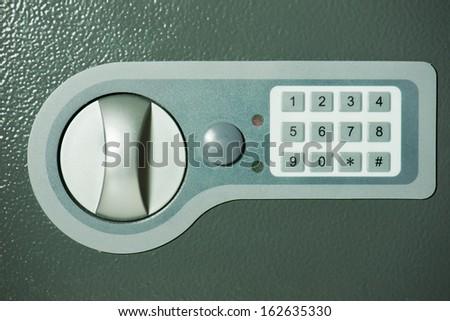 Safe with digital locker - stock photo