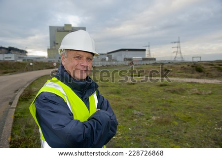 Safety At Work - stock photo