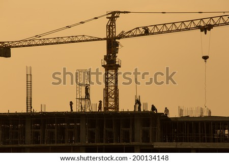 Safety construction workers