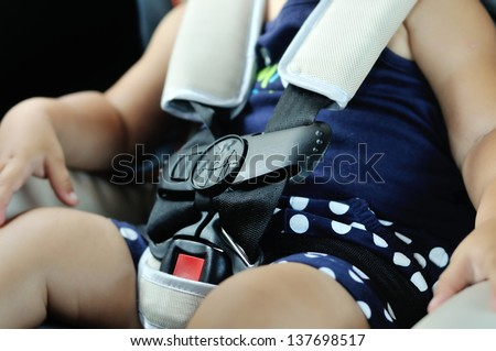 safety for baby in car