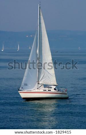 Sailboat - stock photo