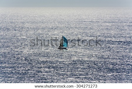 Sailboat in distance
