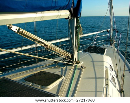 Sailing Adelaide - stock photo