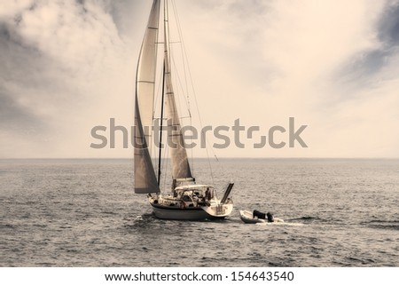 Sailing in open waters