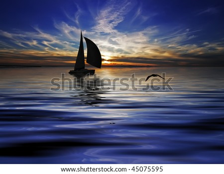 Sailing in the night