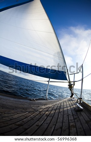 Sailing on the Baltic Sea Sea