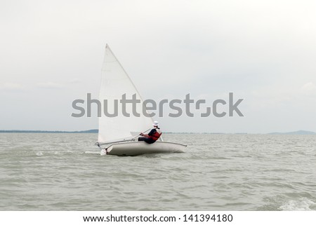 Sailor in the wind