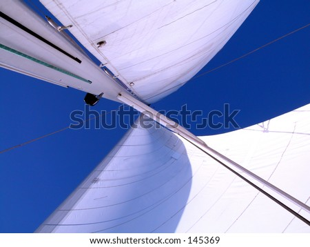 sails - stock photo