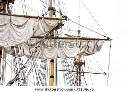 sails - stock photo