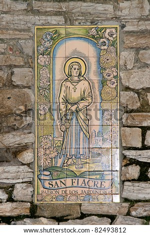 saint fiacre - stock photo