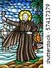 Saint Francis Xavier - stock photo