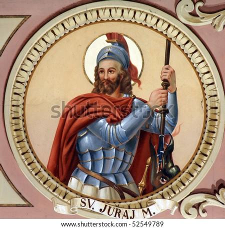 Saint George - stock photo