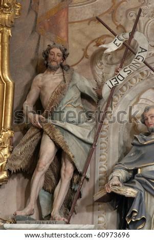 Saint John the Baptist - stock photo