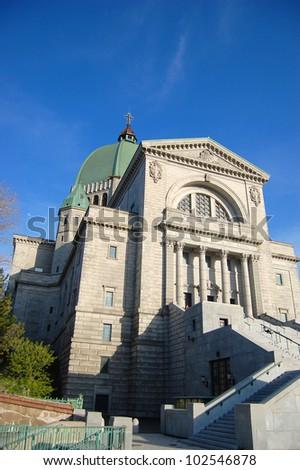 Saint Joseph Oratory in Montreal, Quebec, Canada - stock photo