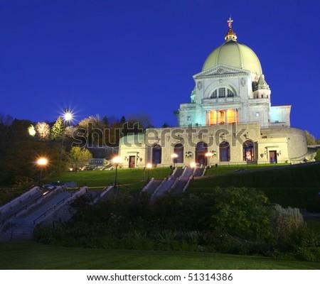 Saint Joseph Oratory, Montreal - stock photo