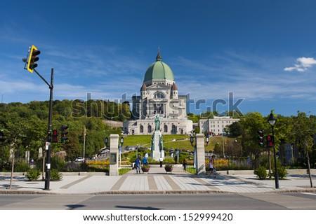 Saint Joseph's Oratory of Mount Royal - stock photo