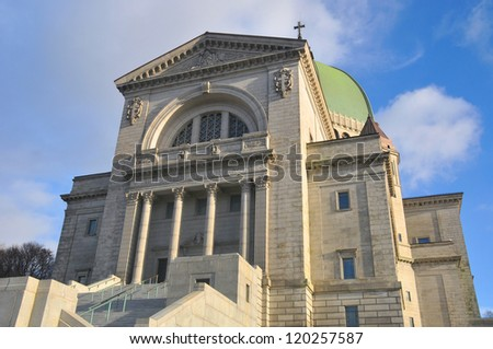Saint Joseph's Oratory of Mount Royal, (French: Oratoire Saint-Joseph du Mont-Royal), is a Roman Catholic basilica on the west slope of Mount Royal in Montreal, Quebec, Canada.