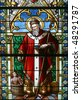 Saint Nicholas - stock photo