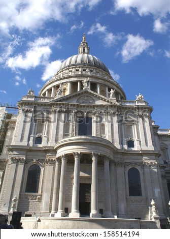 Saint Paul Cathedral, London, England, UK