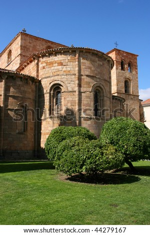 Saint Peter's Church in Avila, Spain. Religious architecture.