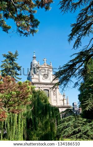 Saint Vincent Church, Blois - stock photo