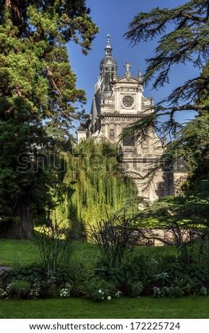 Saint Vincent Church. Blois, France. - stock photo