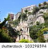 Sainte Devote and environment in Monaco, Monte Carlo - stock photo
