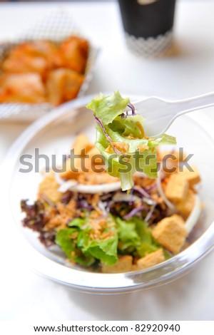 salad appetizer - stock photo