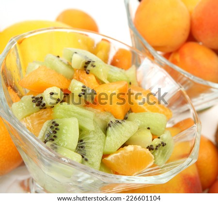 salad of ripe fruit
