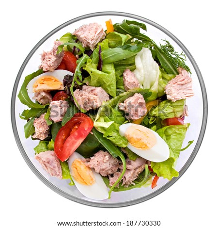 Tuna salad stock images royalty free images vectors for Tuna fish salad recipe with egg