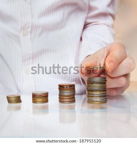 salary increase  - stock photo