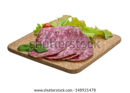 Salchichin salami - stock photo