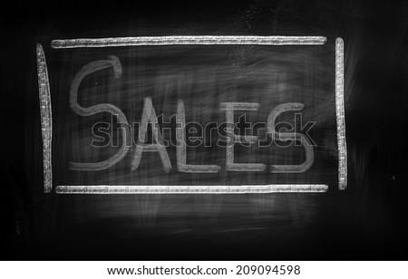 Sale Concept - stock photo
