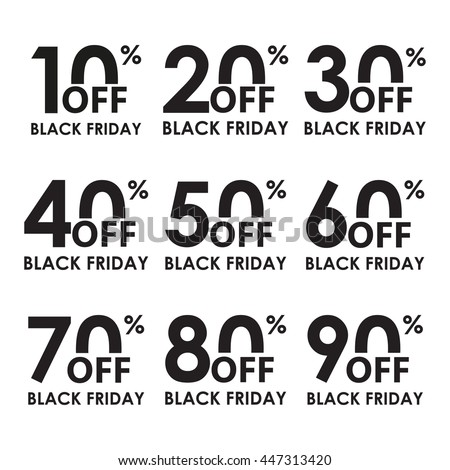 Stock Photo Sale Icon Set Black Friday Concept Discount Price Off And Sales Design Template Shopping Low Fortnite Cheap
