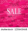 Sale illustration. - stock photo