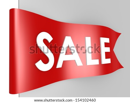 Sale label - stock photo