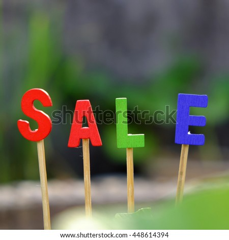Sale off background for shopping season, can use as label for special promotion at outdoor fashion store