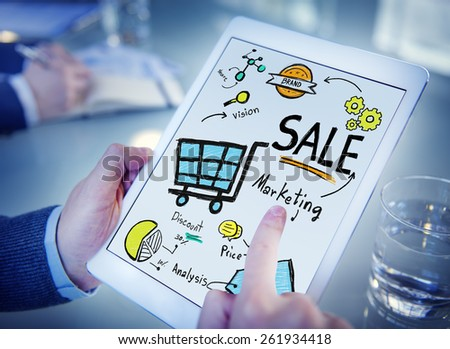 Sale Sales Selling Finance Revenue Money Income Payment Concept - stock photo