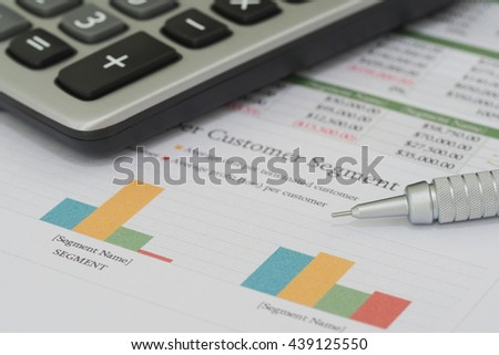 Sales and financial business report