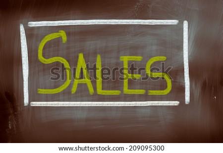 Sales Concept - stock photo